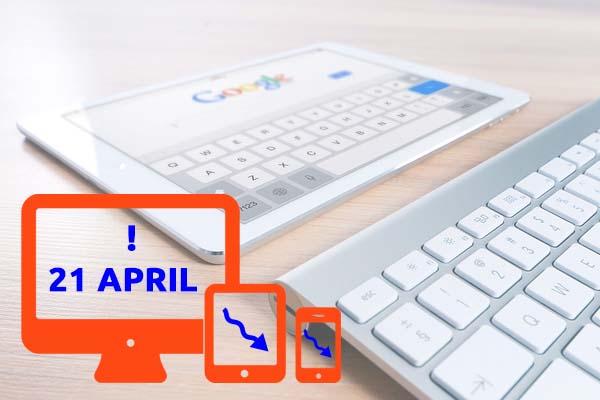 mobiel vriendelijke websites google